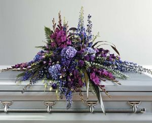 Purple Casket