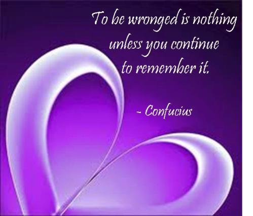 Confucius Purple Heart