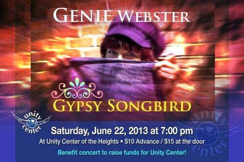 Genie Webster Quirky Songbird
